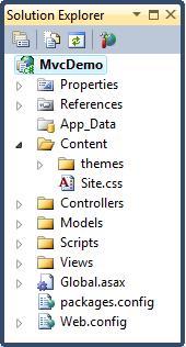 ASP.NET MVC - 应用程序文件夹