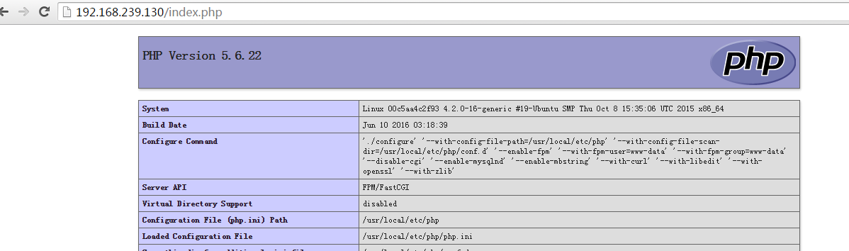 Docker 安装 PHP